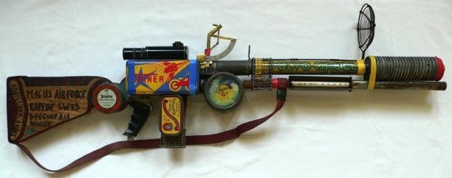 Andre robillard fusil M16