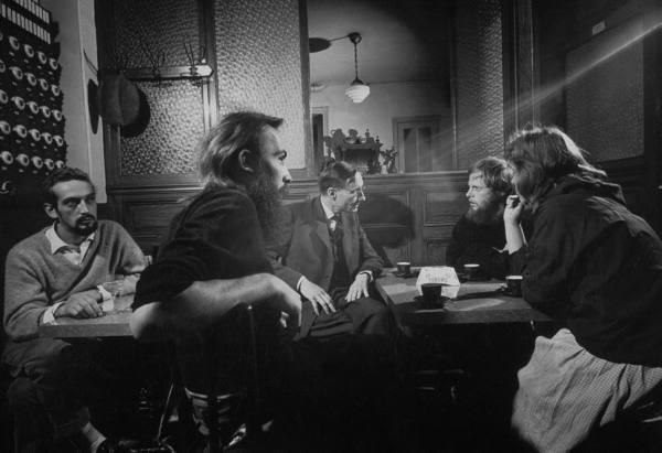 William Burroughs in Paris,1959