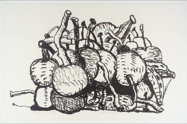 Summer 1980 Philip Guston 1913-1980 Presented by David and Renée McKee through the American Federation of Arts 1984 http://www.tate.org.uk/art/work/P11075