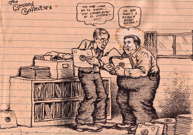 Robert Crumb, The record collectors