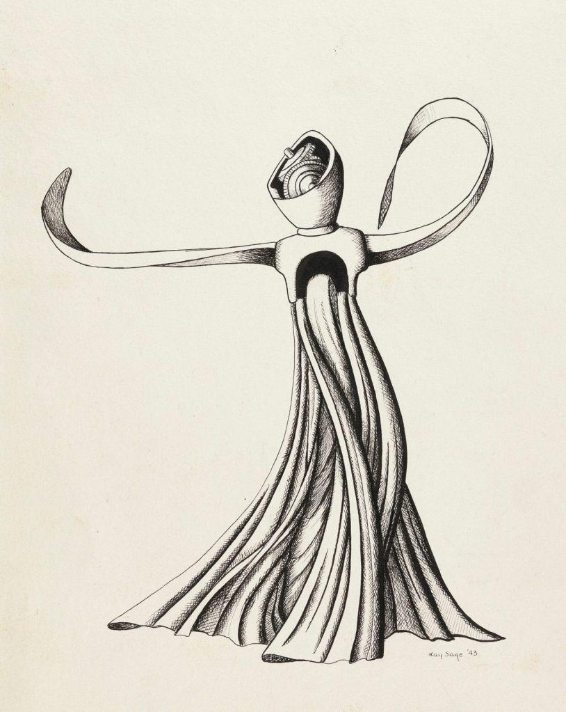 Figure (Illustration for VVV Magazine), 1943